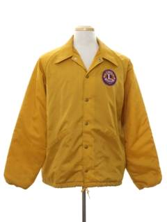 1960's Mens Mod Racing Style Jacket