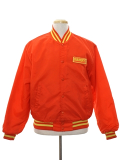 1980's Mens Baseball Style Work Jacket