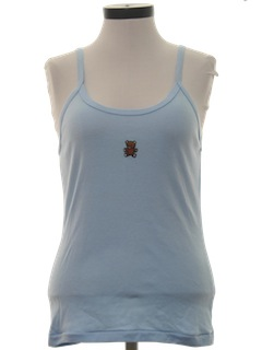 1980's Womens Tank-Top Shirt