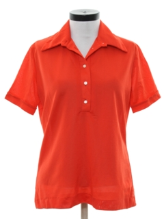 1970's Womens Knit Golf Shirt