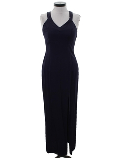 1990's Womens Wicked 90s Maxi Prom Or Cocktail Maxi Dress