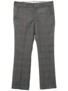 1960's Mens Flat Front Slacks Pants
