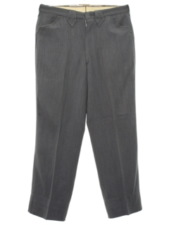 1950's Mens Rockabilly Style Western Slacks Pants