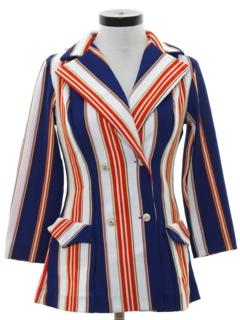 1970's Womens Mod Blazer Style Jacket