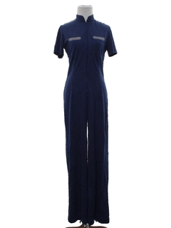 1970's Womens Disco Jumpsuit