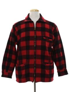 1950's Mens Wool Field Jacket