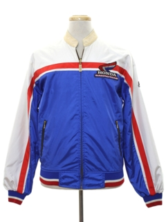 1980's Mens Reversible Racing Jacket