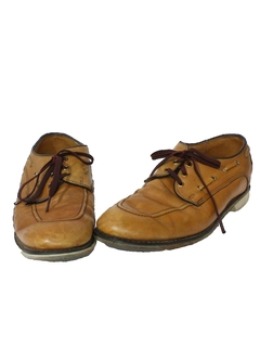 1970's Mens Accessories - Mod Bowling Shoes