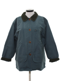 1990's Womens Barn Style Car Coat Jacket