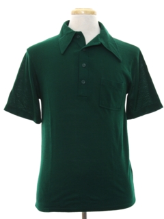 1960's Mens Knit Polo Shirt