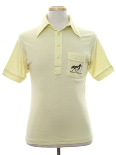 1970's Mens Polo Style Golf Shirt