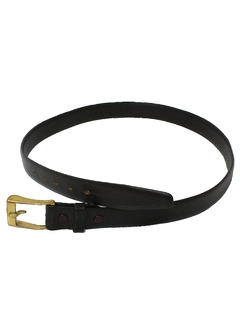 1960's Mens Accessories - Mod Leather Belt