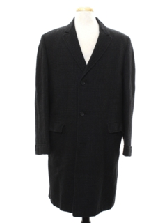 1950's Mens Mod Overcoat Jacket