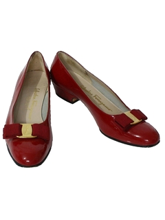 1980's Womens Accessories - Designer Shoes