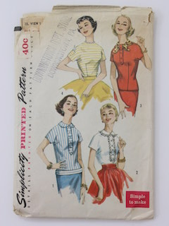 d95973bca2145c Womens Vintage Shirts Sewing Patterns at RustyZipper.Com Vintage ...