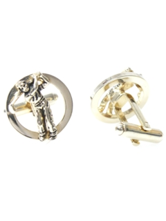 1960's Mens Accessories - Golf Cufflinks
