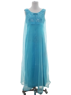 1960's Womens Cocktail or Prom Maxi Dress