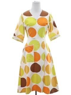 1950's Womens Mod Dress