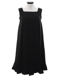 1960's Womens A-Line Little Black Dress