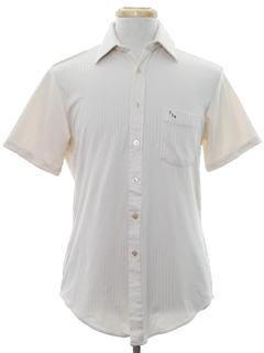 1970's Mens Monogrammed Shirt