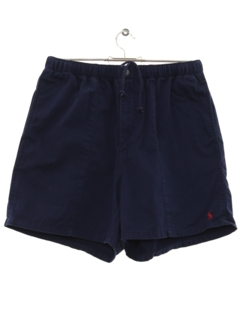 1980's Mens Totally 80s Preppy Shorts