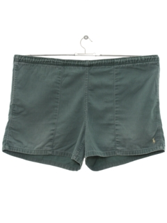 1980's Mens Totally 80s Preppy Sport Shorts