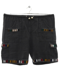 1990's Mens Guatemalan Style Hippie Shorts
