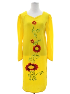1990's Womens or Girls Salwar Kameez Style Hippie Dress