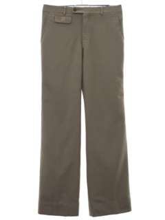 1980's Mens Totally 80s Designer Slacks Pants