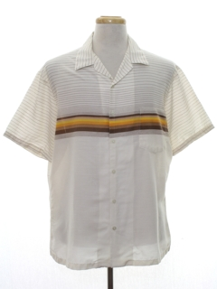 1980's Mens Totally 80s Surf Style Sport Shirt