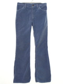 1970's Mens Bellbottom Corduroy Pants