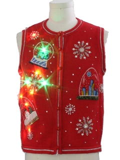 Vintage Ugly Christmas Sweaters At Rustyzippercom Vintage Clothing