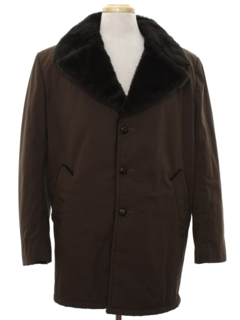 1960's Mens Mod Car Coat Jacket