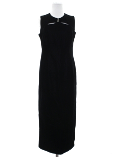 1980's Womens Cocktail Maxi Dress