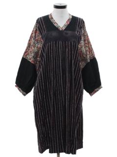 1980's Womens Hippie Dress