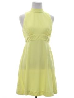 1960's Womens Mod Go-Go Style Dress