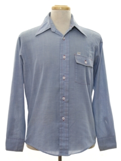 1970's Mens Chambray Shirt