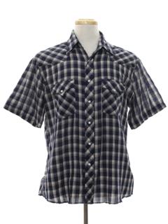 1980's Mens Western Sport Shirt
