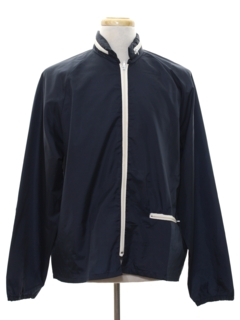 1970's Mens Mod Windbreaker Jacket