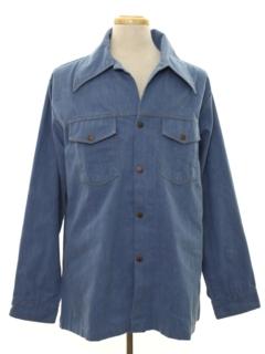 1970's Mens Western Denim Leisure Jacket