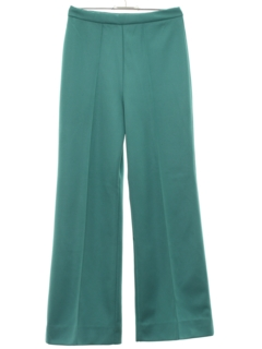 1970's Womens Bellbottom Flared Knit Pants