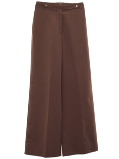 1970's Womens Bellbottom Style Wide Leg Pants