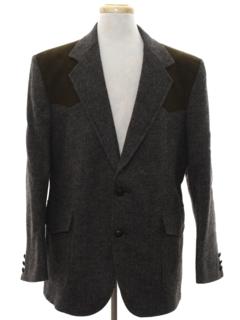 1980's Mens Pendleton Western Blazer Sport Coat Jacket