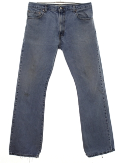 1990's Mens Grunge Levis 517 Bootcut Flared Denim Jeans Pants