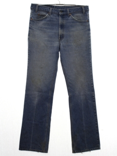1980's Mens Grunge Levis 517 Straight Leg Denim Jeans Pants