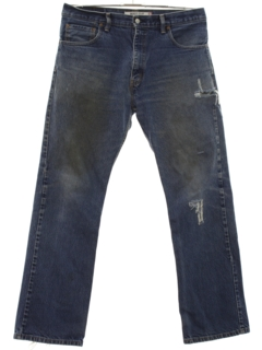 1990's Mens Grunge Levis 517 Straight Leg Denim Jeans Pants