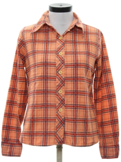 1970's Womens Flannel Shirt