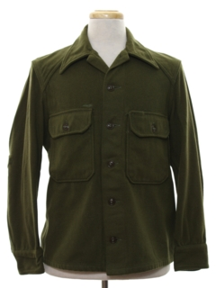 1940's Mens US Army CPO Shirt Jacket
