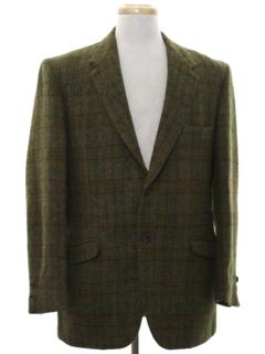 1960's Mens Mod Blazer Sportcoat Jacket