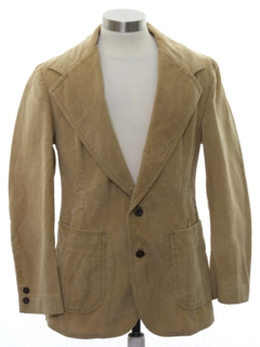 1970's Mens or Boys Disco Blazer Sportcoat Jacket